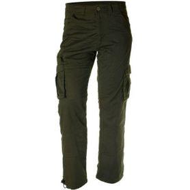 Pánske zateplené nohavice Loshan disaster olivové