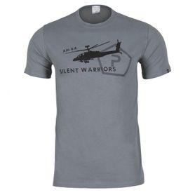 Pentagon Helicopter tričko, sivé