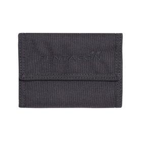 Pentagon stater 2.0 peňaženka na suchý zips čierna