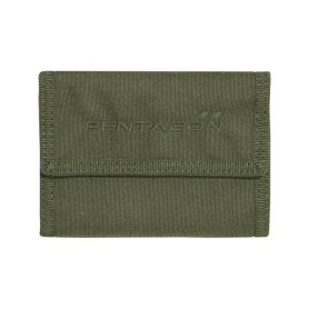 Pentagon stater 2.0 peňaženka na suchý zips olivová