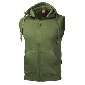 Pentagon vesta s kapucňou, olivová