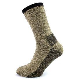 Polar 2-vrstvové termo ponožky 1 pár khaki