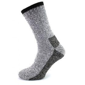 Polar 2-vrstvové termo ponožky 1 pár sivé