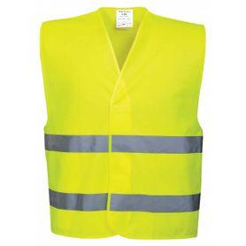 Reflexná vesta uni, žlto-zelená