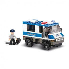 Sluban stavebnica, policajný transportér