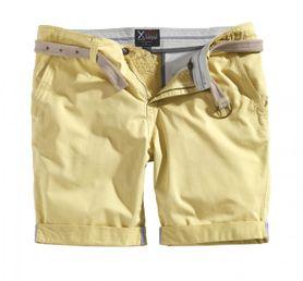 Surplus Chino kraťasy, svetlo-žlté