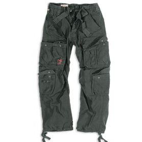 Surplus Vintage nohavice, čierne
