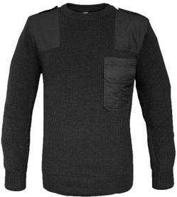 Mil-Tec vojenský sveter BW, čierny