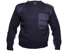 Sweater BW security sveter fialový