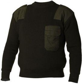 Sweater BW security sveter olivový