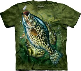 The Mountain 3D tričko ryba, unisex