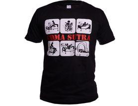 Funny vtipné tričko, comasutra čierne