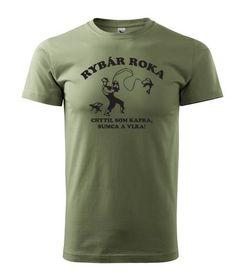 Tally tričko rybár roku olivové