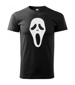 Funny vtipné tričko, scary movie čierne