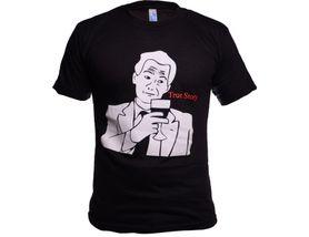 Funny vtipné tričko, true story čierne