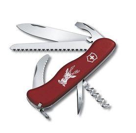 Victorinox vreckový nôž červený 111mm Hunter s poistkou