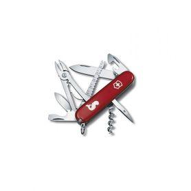 Victorinox vreckový nôž červený 91mm Angler