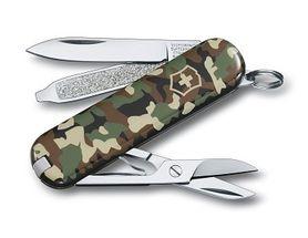 Victorinox vreckový nôž maskáčový 58mm Classic camo