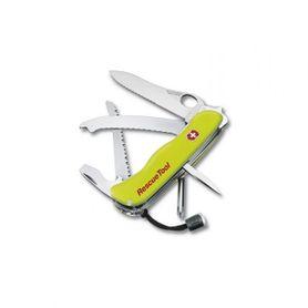 Victorinox vreckový nôž reflexný žltý 111mm Rescue Tool s púzdrom