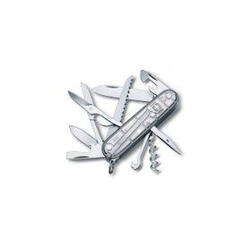 Victorinox vreckový nôž transparentný 91mm Huntsman SilverTech