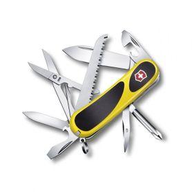 Victorinox vreckový nôž žlto-čierny 85mm EvoGrip 18