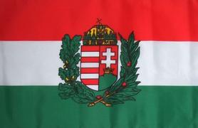 Vlajka Maďarský erb, 150cm x 90cm