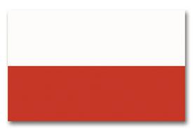 Vlajka Poľsko, 150cm x 90cm