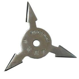 Vrhacia hviezdica, shuriken, 3 cípa, strieborná