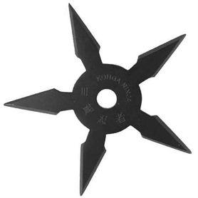 Vrhacia hviezdica, shuriken, 5 cípa, čierna
