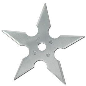 Vrhacia hviezdica, shuriken, 5 cípa, strieborná