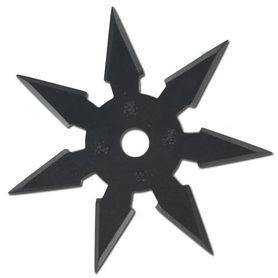 Vrhacia hviezdica, shuriken, 7 cípa, čierna