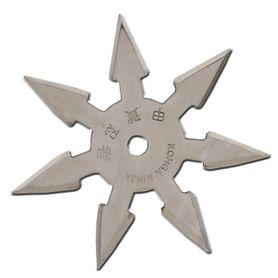 Vrhacia hviezdica, shuriken, 7 cípa, strieborná