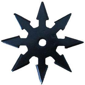 Vrhacia hviezdica, shuriken, 8 cípa, čierna