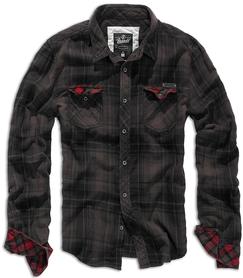 Brandit Duncan košeľa, hnedo čierna