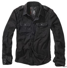 Brandit Vintage pánska košeľa, čierna