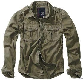 Brandit Vintage pánska košeľa, olivová