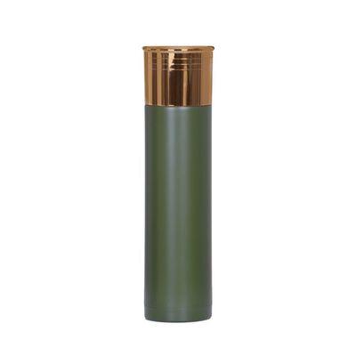 M-Tramp termoska v tvare náboja 1l olivová