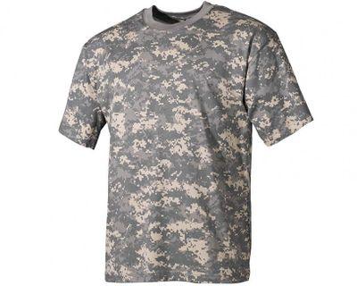 MFH maskáčové tričko vzor AT - digital, 160g/m2