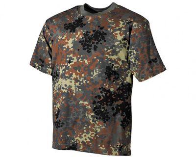 MFH maskáčové tričko vzor german flecktarn, 160g/m2