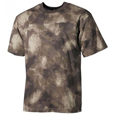 MFH maskáčové tričko vzor HDT camo, 170g/m2