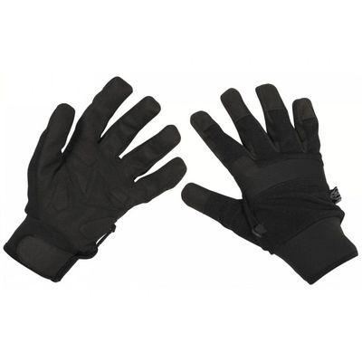 MFH Security rukavice čierne