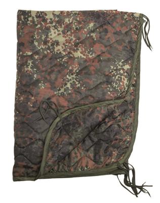 Mil-Tec deka vložka do ponča, flecktarn 210 x 150 cm
