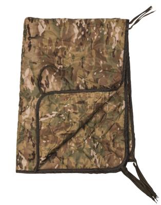 Mil-Tec deka vložka do ponča, multitarn 210 x 150 cm