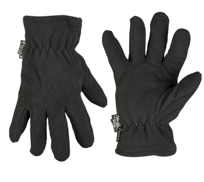 Mil-Tec Fleece Thinsulate™ rukavice, čierne