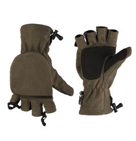 Mil-Tec rukavice s prekrytím prstov, olivové