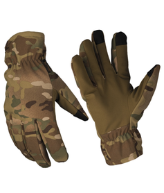 Mil-Tec Softshell Thinsulate™ rukavice, multitarn