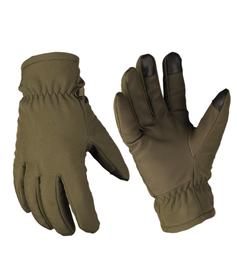 Mil-Tec Softshell Thinsulate™ rukavice, olivové
