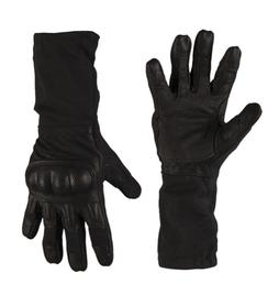 Mil-tec taktické rukavice Action Nomex® s kĺbovou ochranou, čierne