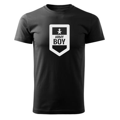 61c8c9c2c O&T krátke tričko army boy, čierna 160g/m2