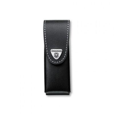 Victorinox púzdro kožené - dlhé čierne do 111mm 6v